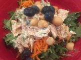 Chicken Salad with added Blueberries and Macadamia Nuts
