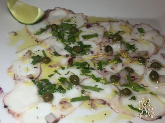 Octopus Carpaccio