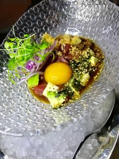 Tuna Ceviche Nikkei
