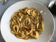 Not on the Spice menu: Duck + Foie Gras Ravioli