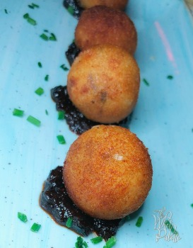TWP at Seaspice Pata Negra Ham Croquettes